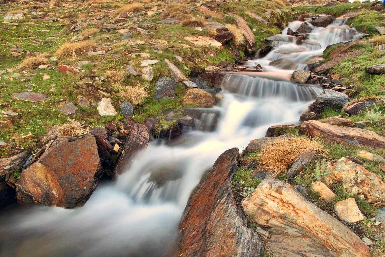 """Melting Water"" - PN Sierra Nevada, Granada -R09179"