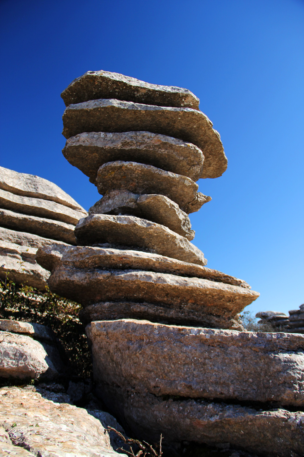 """Layer Tower"" - PN Torcal, Malaga - DR00089"