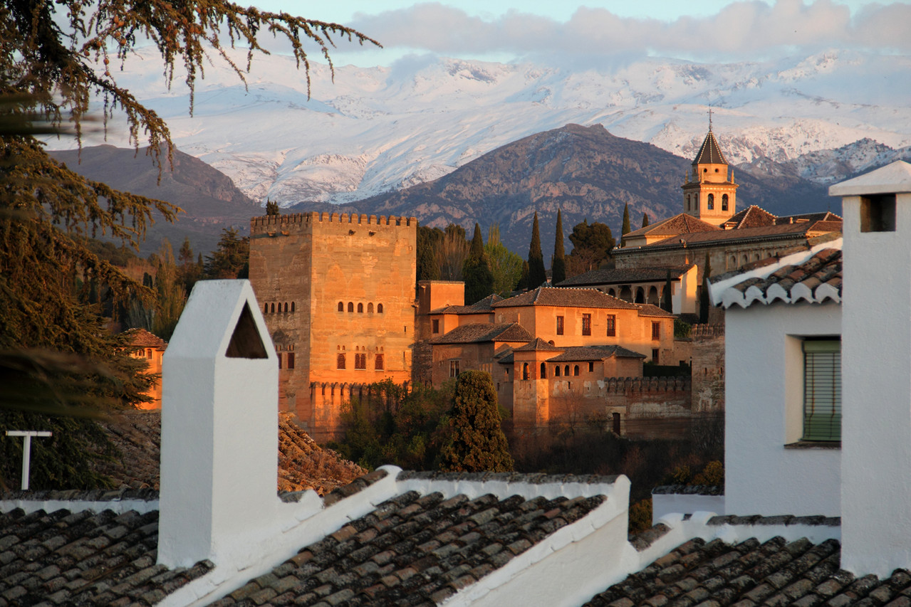 """View on Alhambra"" - Granada - ALH02993"