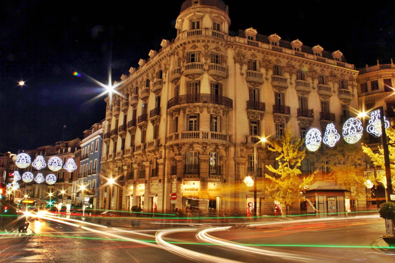 """Chrismas Lights"" - Gran Via, Granada - FL04162"