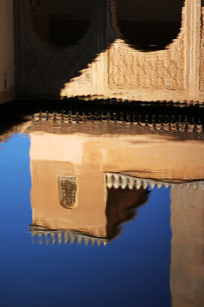 """Reflection"" - Alhambra, Granada - ALH08269"
