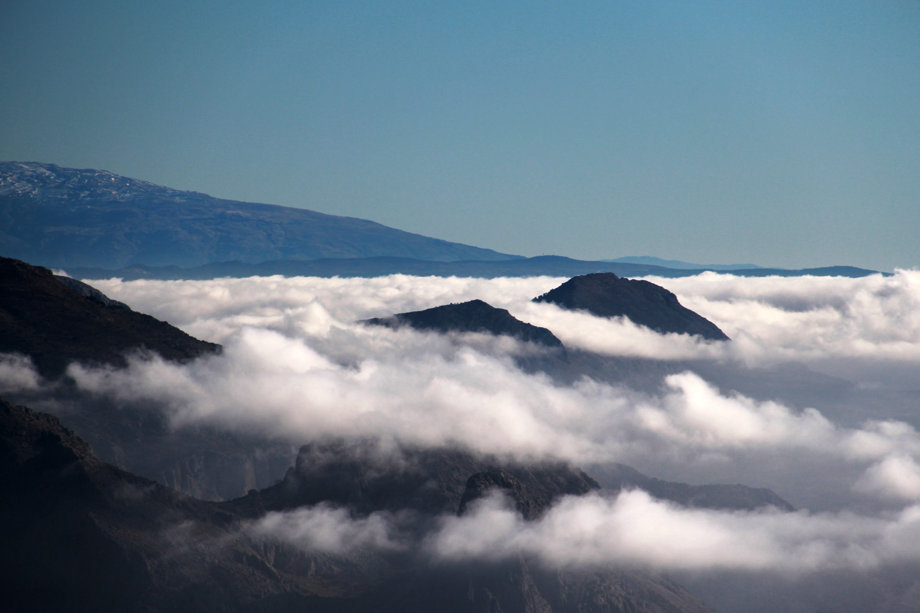 """Just above the Clouds"" - Sierra de Malaga - MC00003"