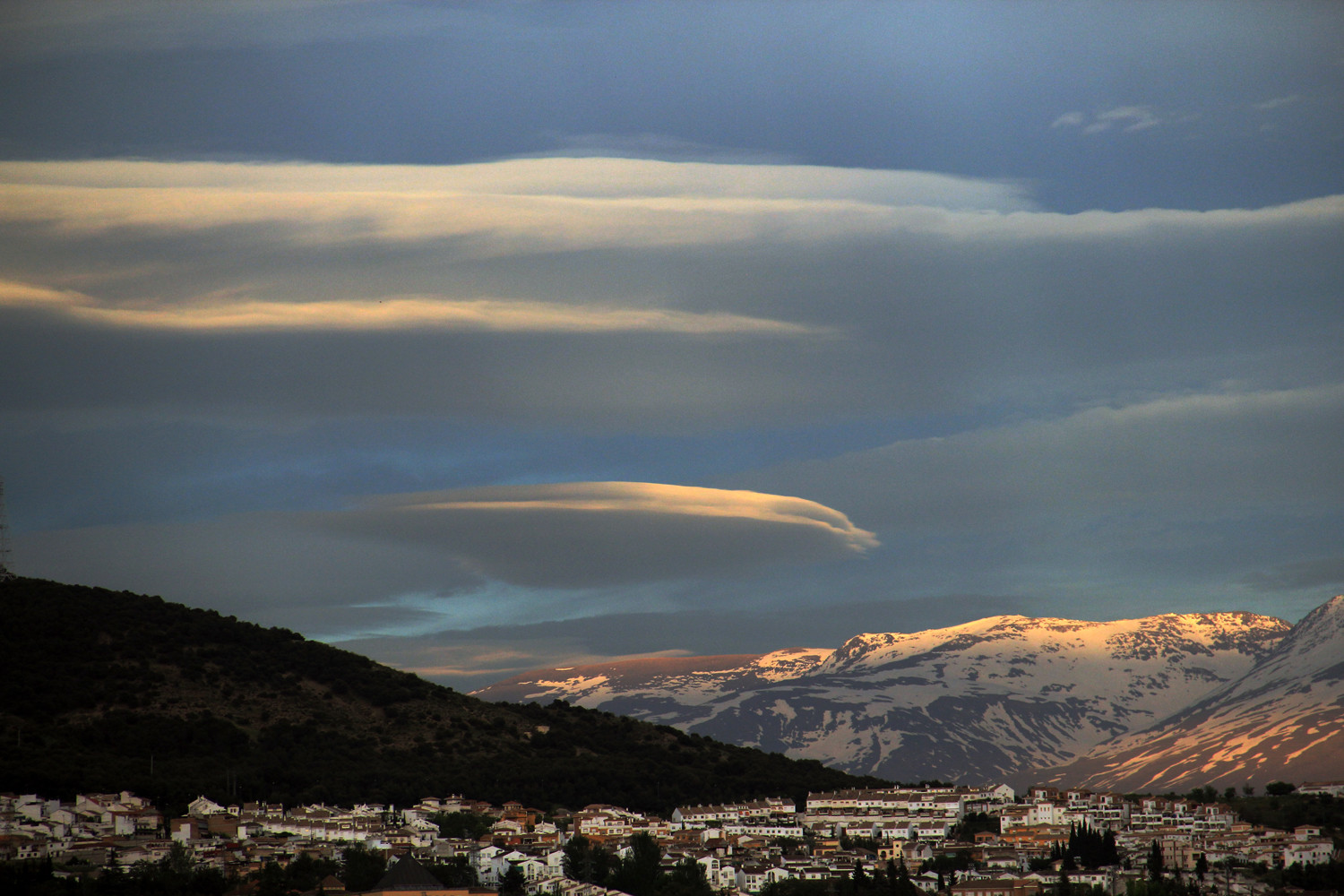 """Evening Clouds"" - PN Sierra Nevada, Granada - MC07383"