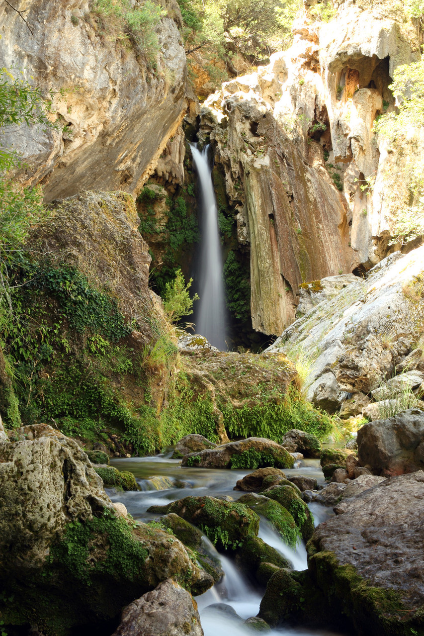 """The Waterfall"" - PN Sierra de Cazorla y Seguras - WF00265"