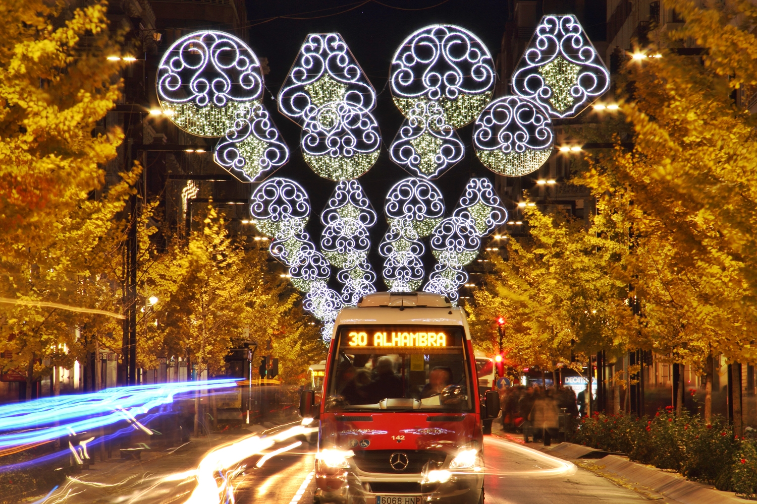 """Chrismas Lights"" - Gran Via, Granada - FL04147"