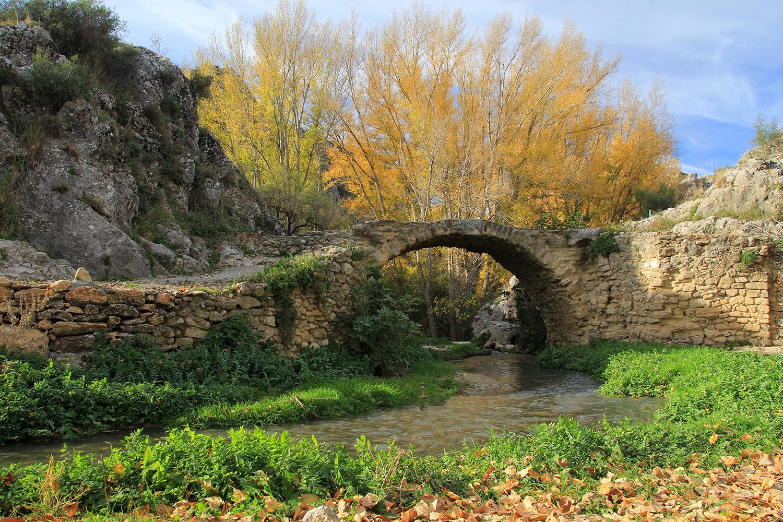 """Roman Bridge"" - Alhama de Granada - B01238"