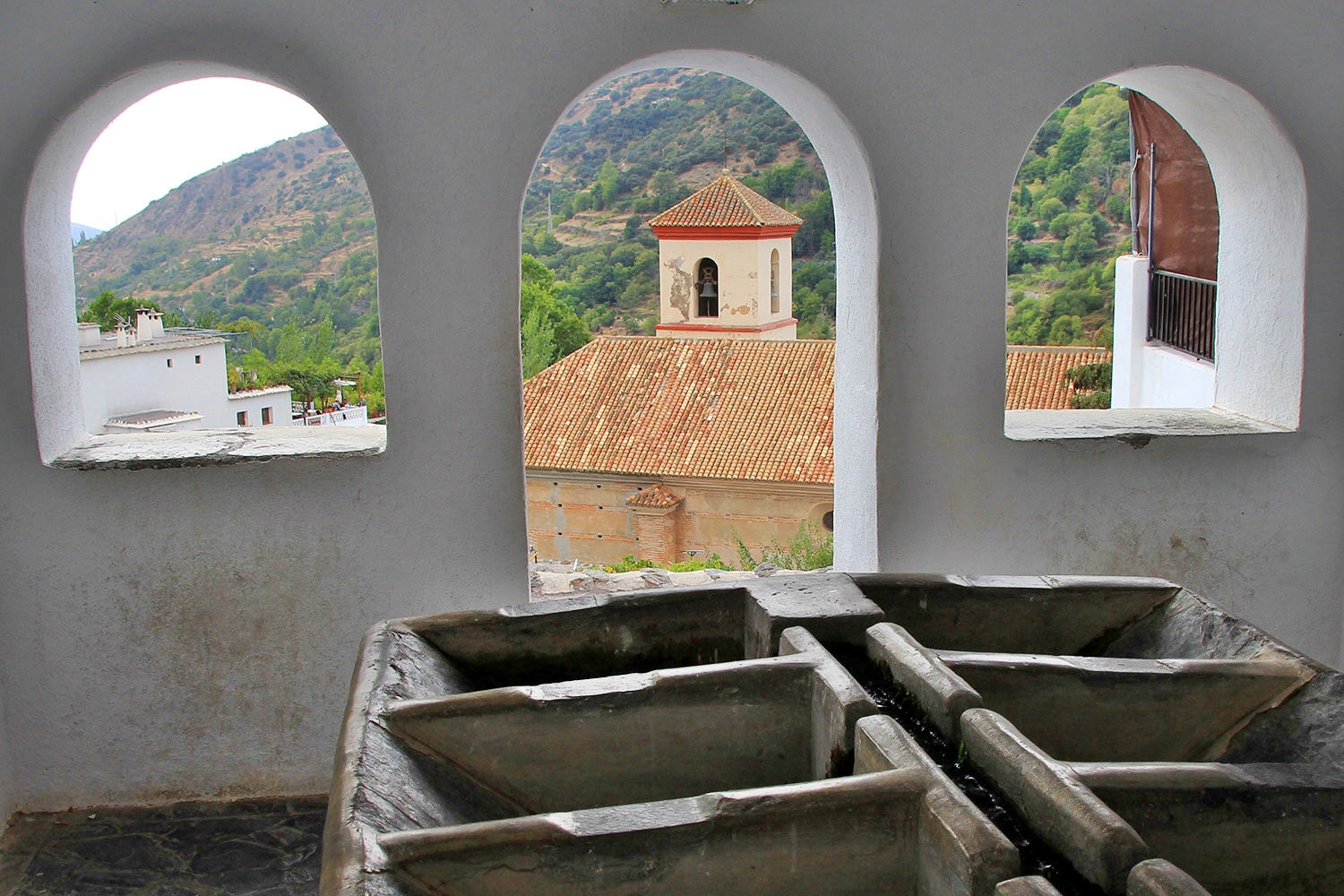 """The Washing Sinks"" - Pampaneira, Granada - V06615"