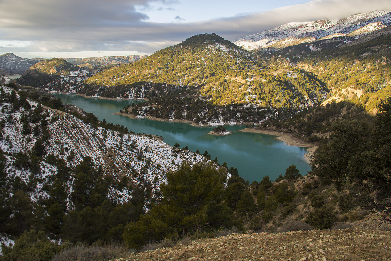 """Embalse de Portillo"" - PN Sierra de Castril, Granada - L05392"