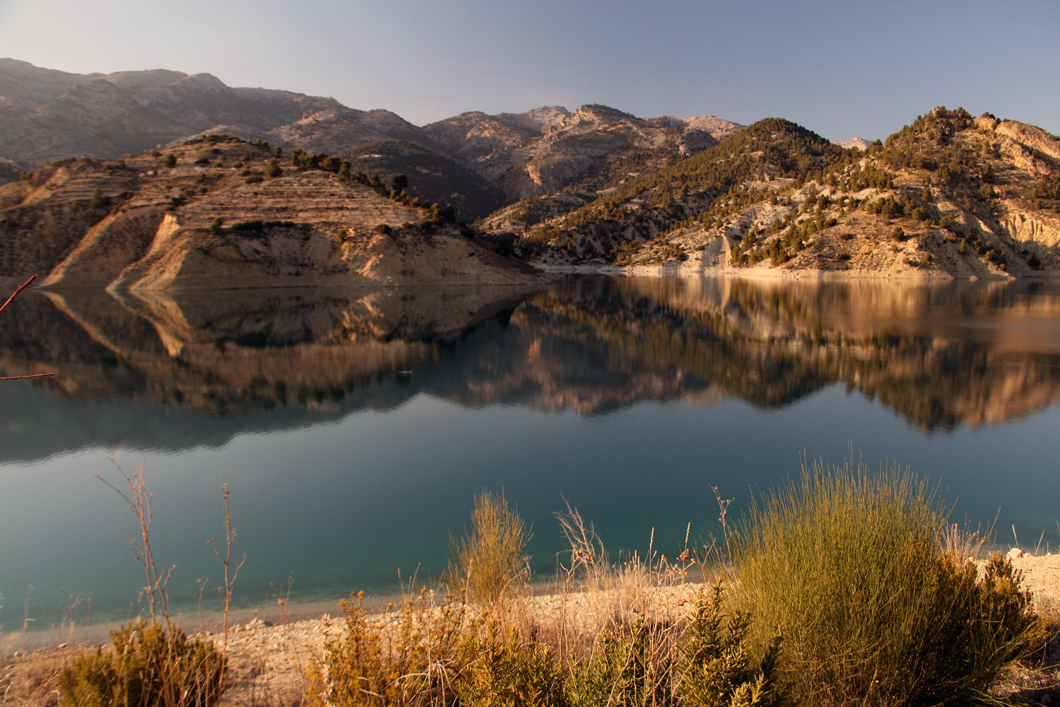 """Embalse de Portillo"" - PN Sierra de Castril, Granada - L01979"