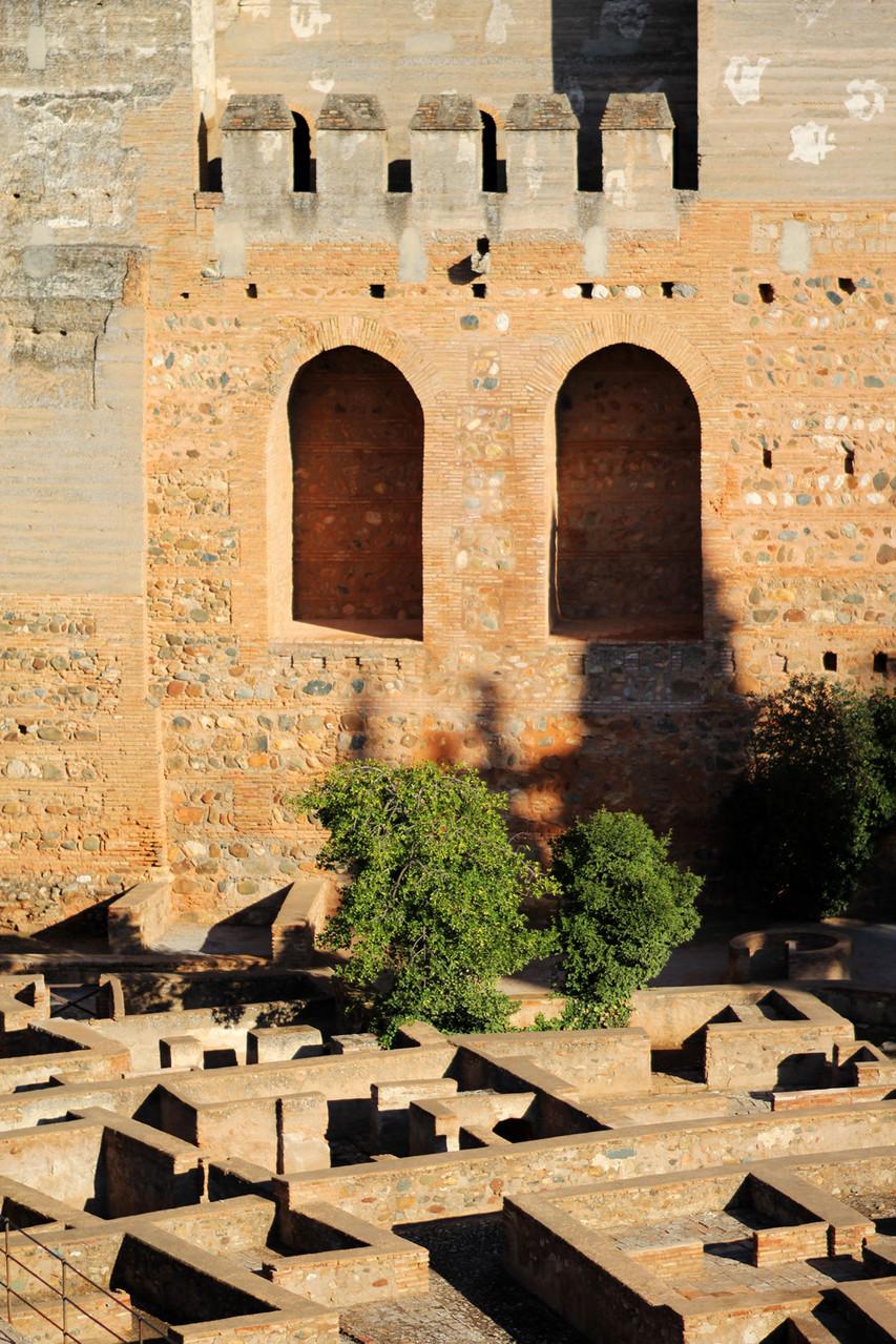"""The Alcazaba""- Alhambra, Granada - ALH08365"
