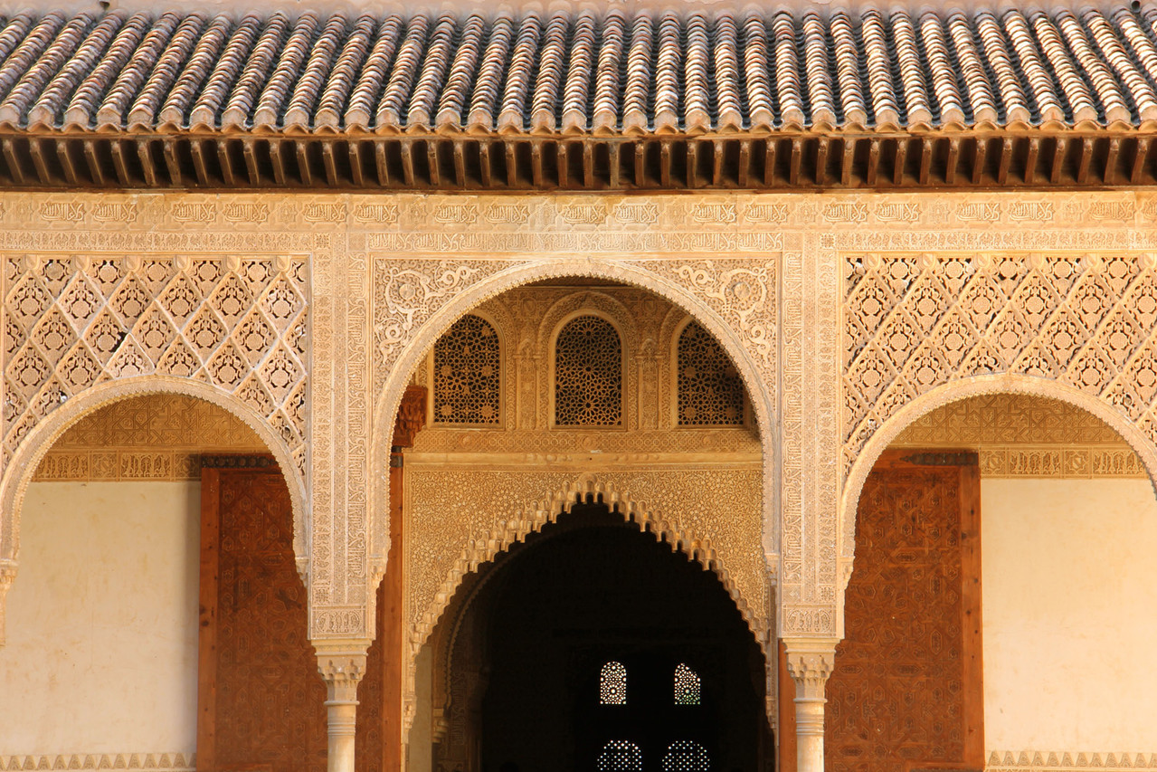 """The Court of the Myrtles""- Alhambra, Granada - ALH04828"