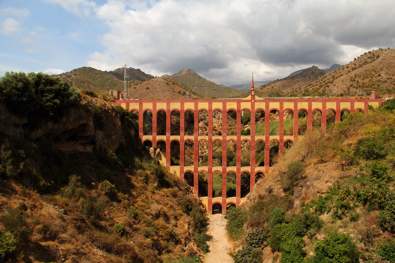 """Bridge of Water"" - Nerja, Malaga - B08558"