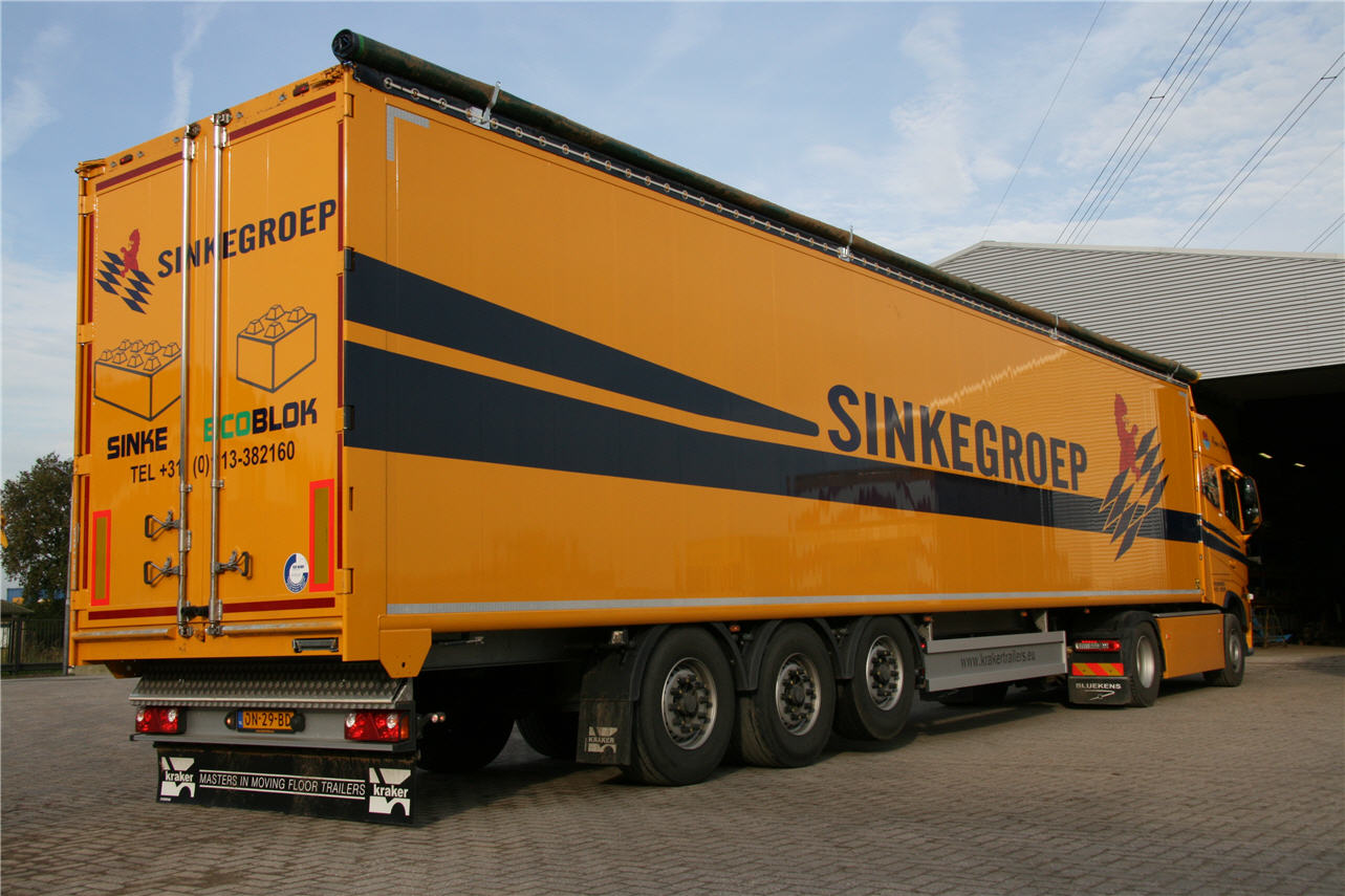 Belettering Walking Floor Trailer
