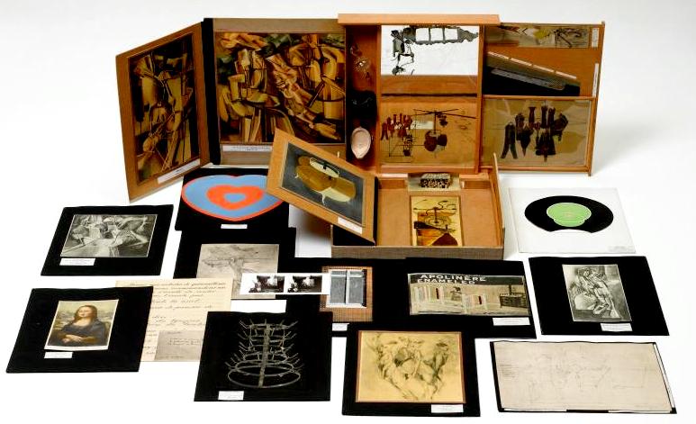 """""""La boite-en-valise"""" de Marcel Duchamp (1936-1941)"""