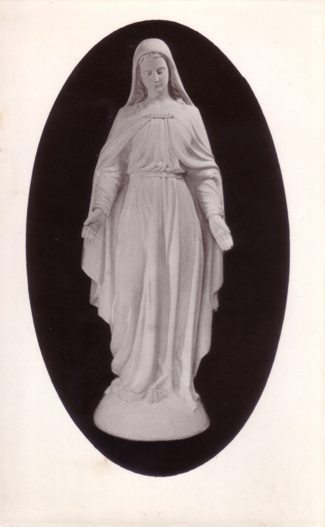 Vierge de Champdor (Photo éditée à l'occasion de sa bénédiction)