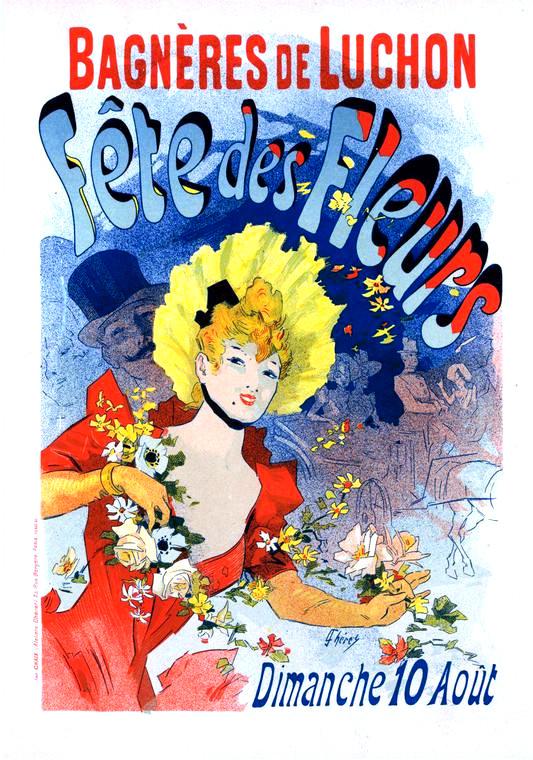Affiche de Jules Chéret (1890)