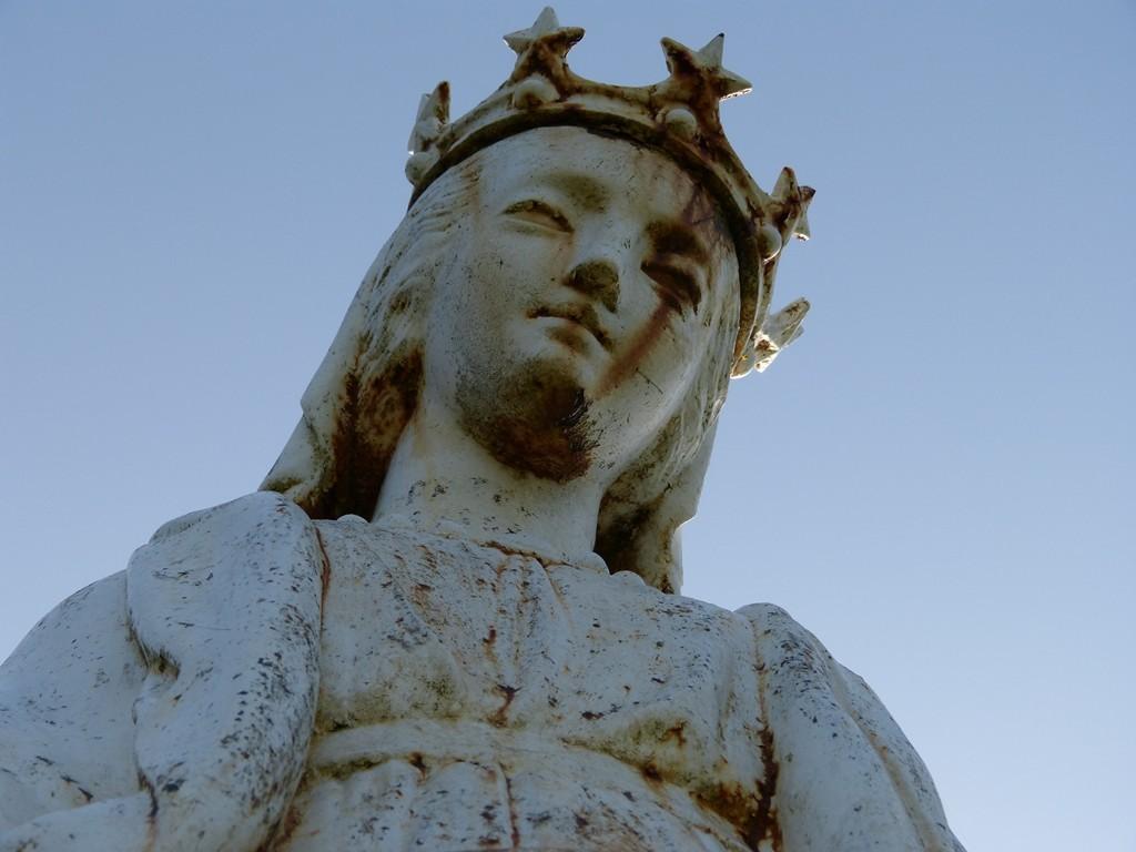 Détail de la Vierge de Corlier