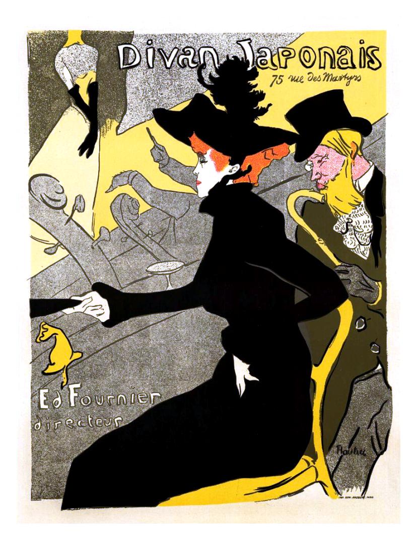 Affiche de Toulouse Lautrec (1892)