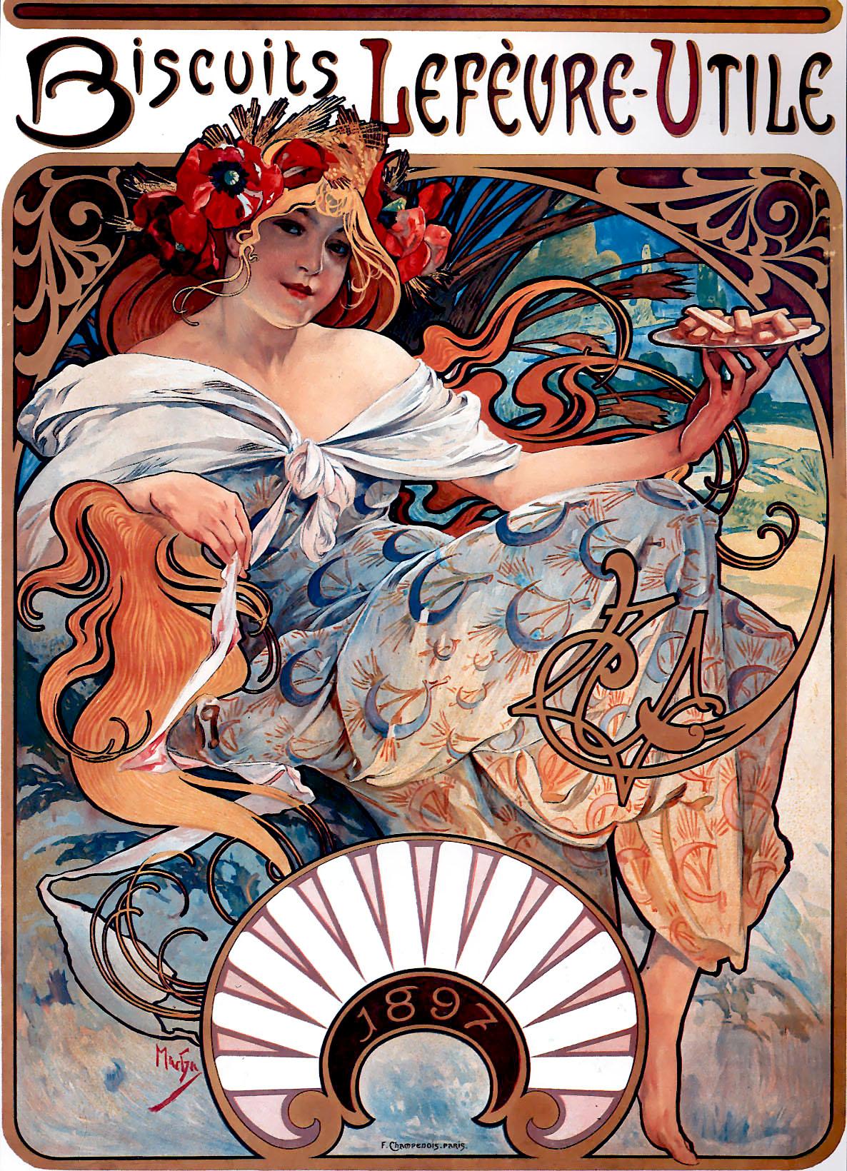 Affiche de Mucha (1896)