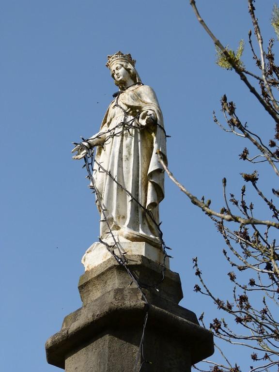 """Vierge du """"Molard"""" à Résinand"""