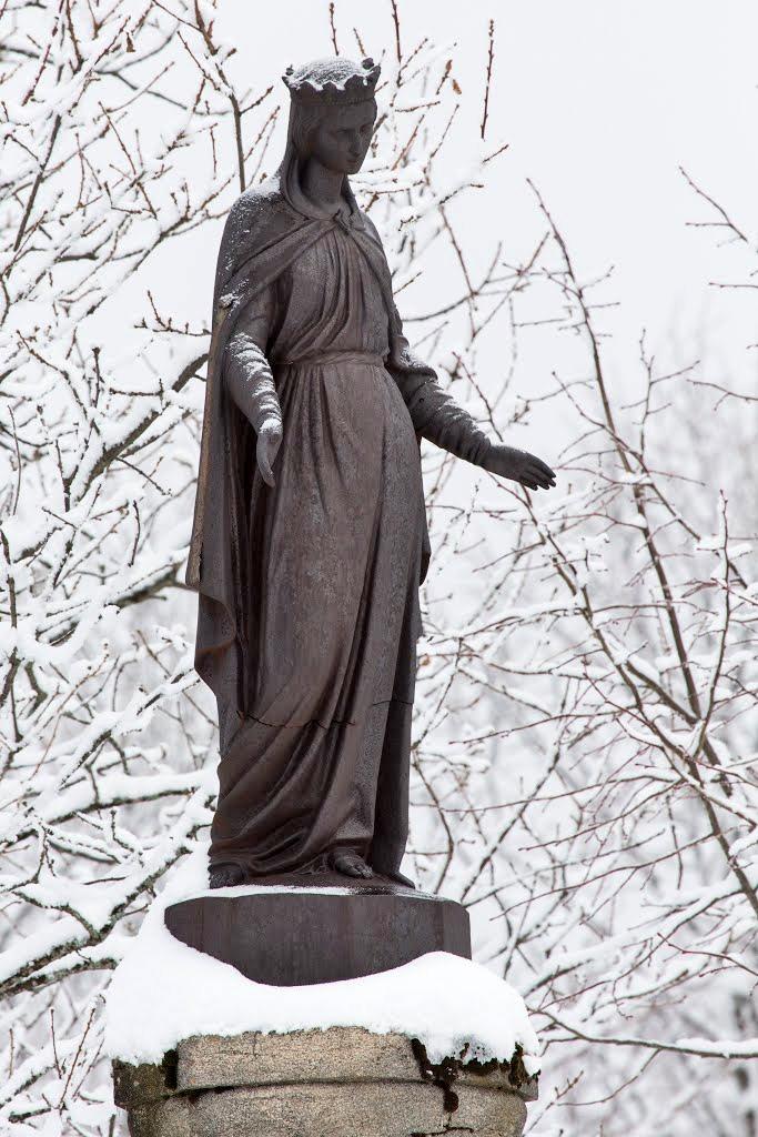 Vierge de Longecombe © Mickaël Dole