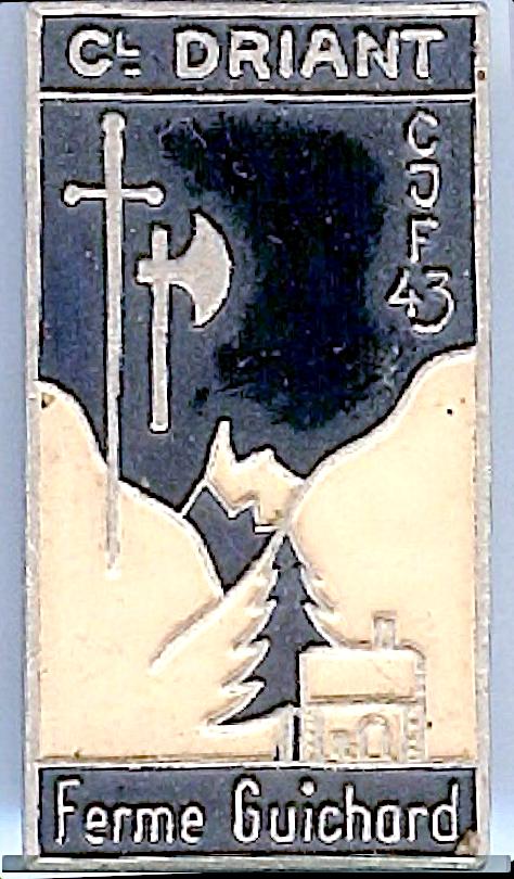 Insigne de la Ferme Guichard [Cormaranche]