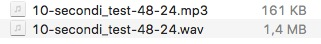 mp3 128kbps VS PCM