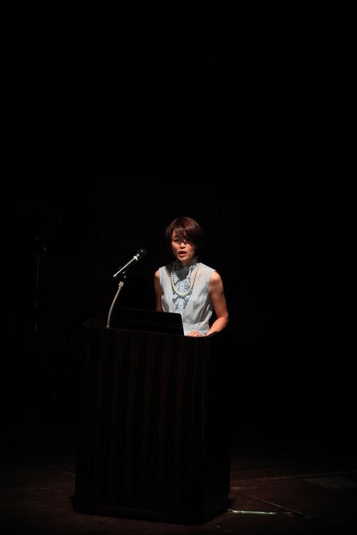 オープニングトーク:杉山奈生子先生(愛知産業大学造形学部研究科准教授)