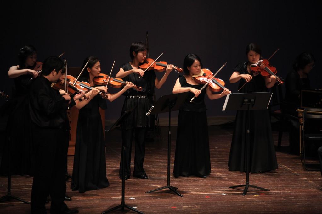 バロックヴァイオリン・・・バロックヴィオラと続き・・・