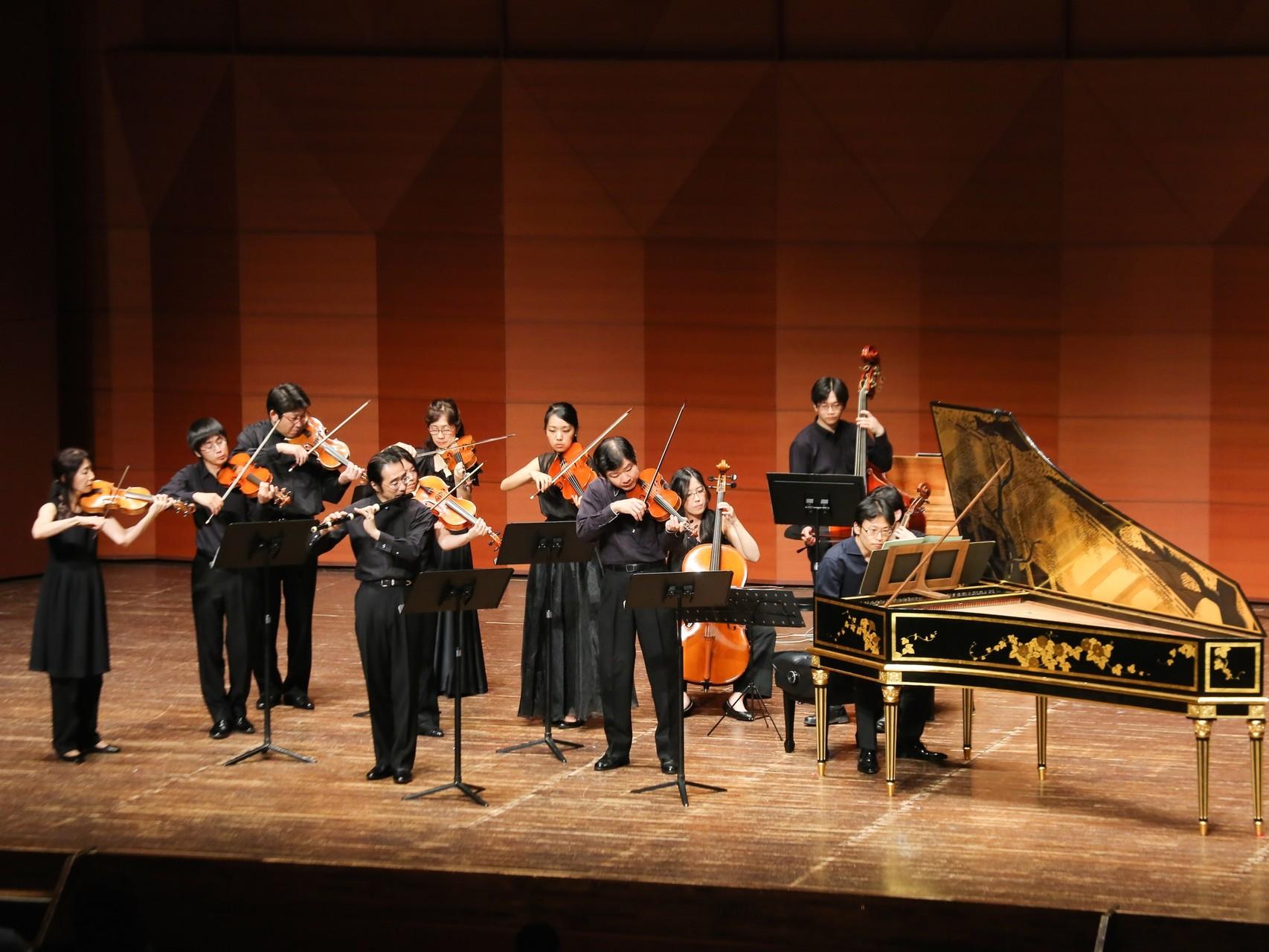 J.S.バッハ:フルートとヴァイオリンとチェンバロのための協奏曲 イ短調 BWV 1044