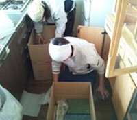 荷物の梱包