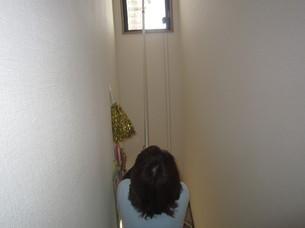 ハウスクリーニング(ベランダ・高所窓)