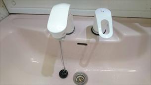 洗面台シャワー交換
