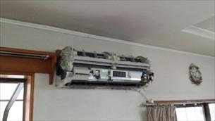 エアコンクリーニング(お掃除機能付き)