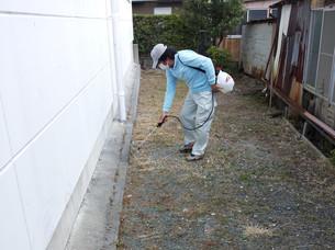 草刈り・除草剤散布