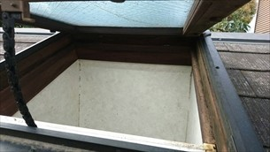天窓雨漏り補修