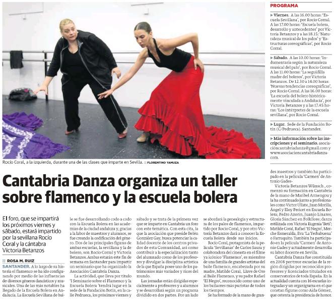 ... organiza la Asociación Cantabria Danza y que tendrá lugar los días 14 y  15 de abril en la sede de la Fundación Botín 0f5a62b84ca77