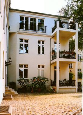 Innenhof - Friedrich Ebert Straße