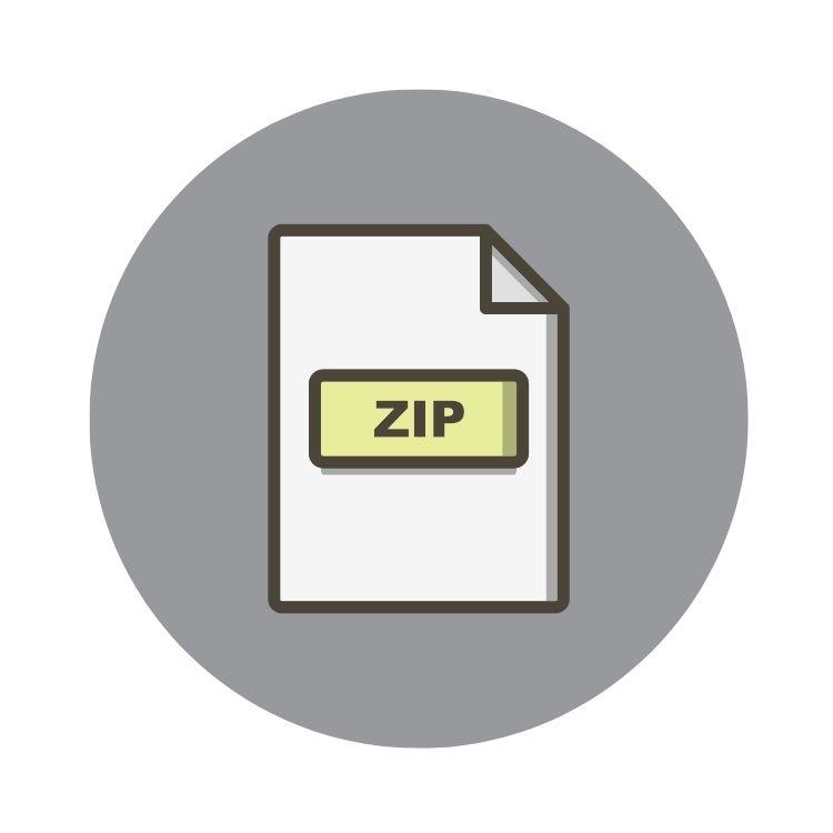 Zip Dateien entpacken