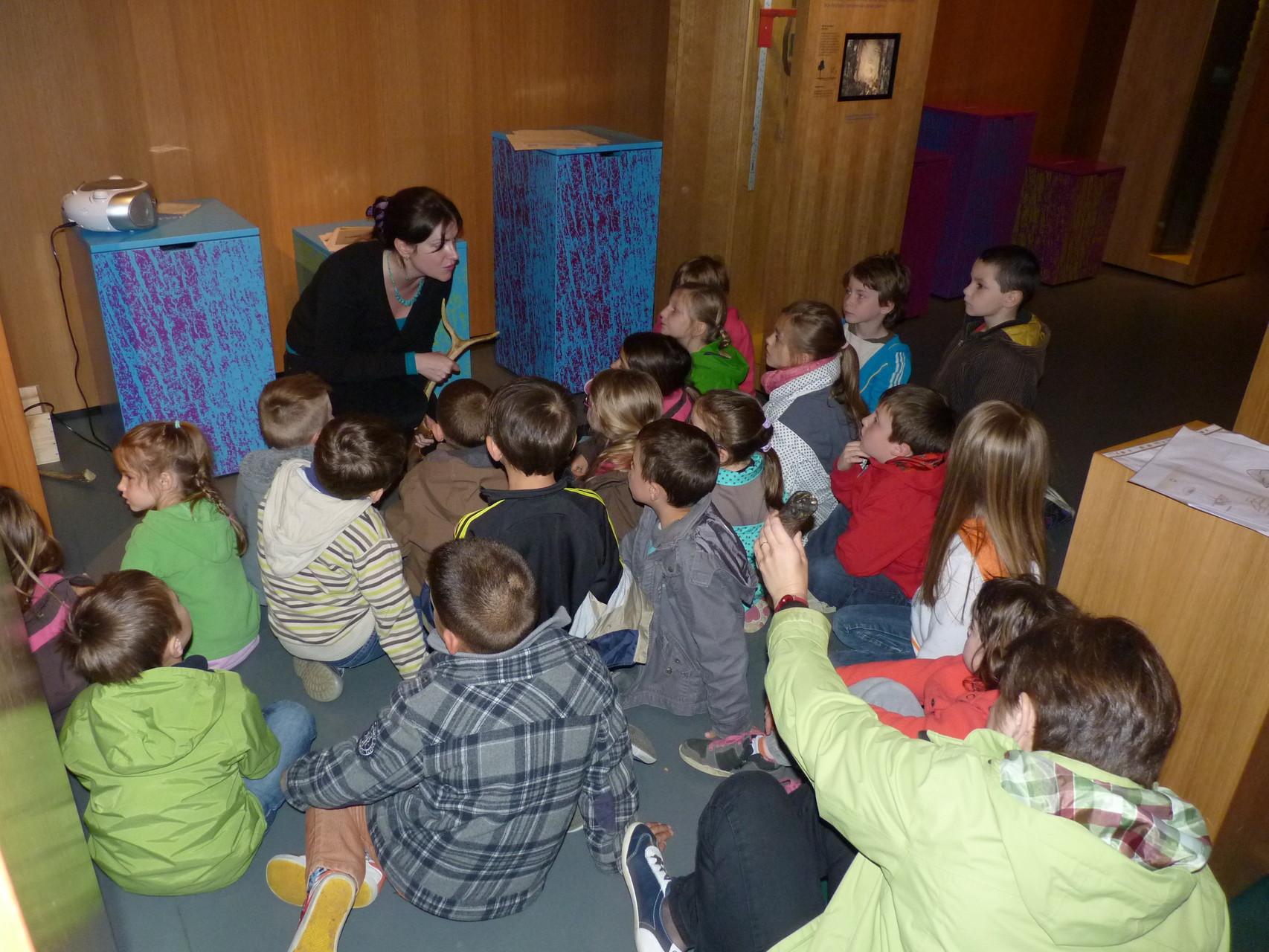 Visite sensorielle pour les enfants