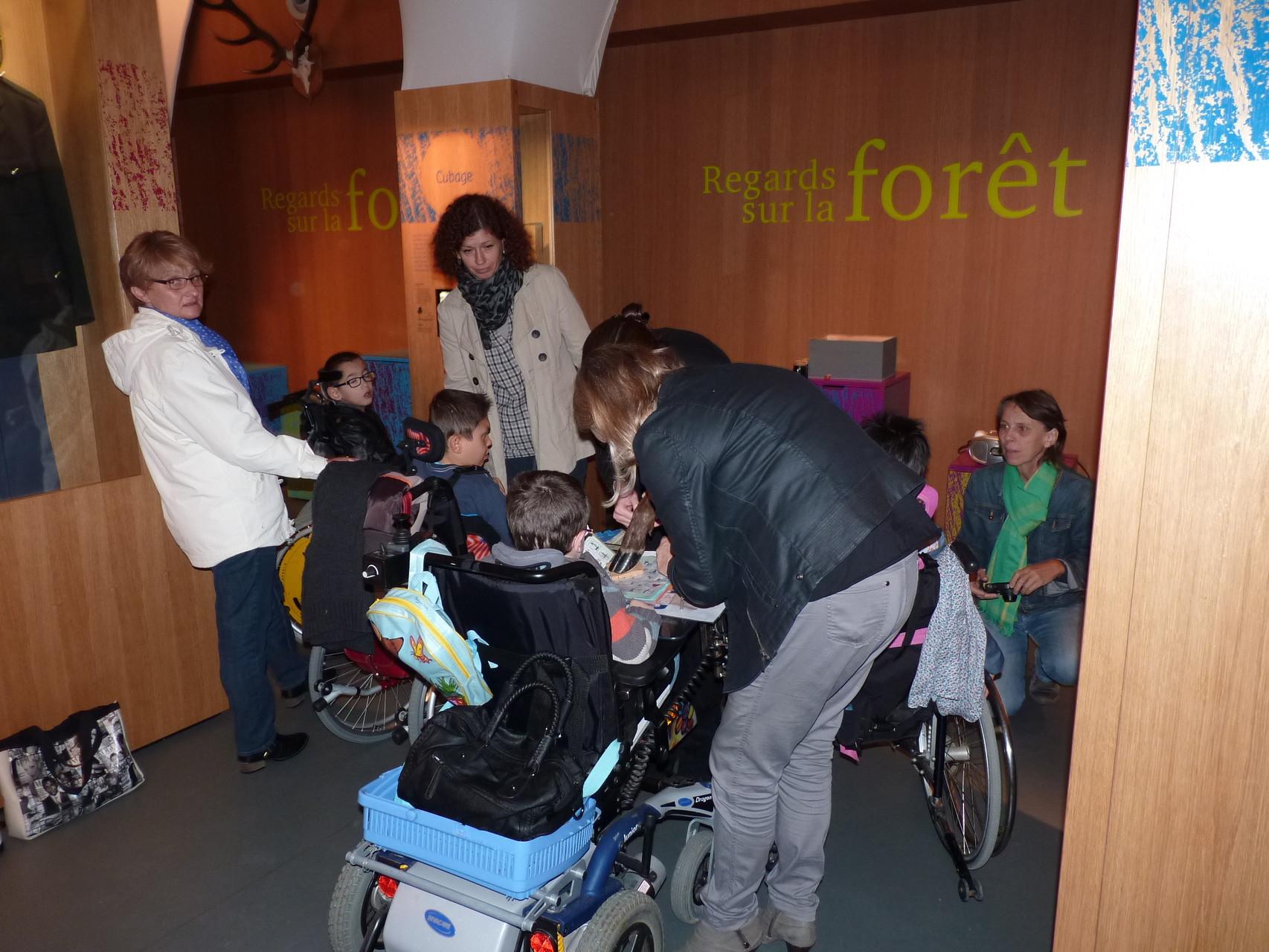 Visite de l'exposition permanente
