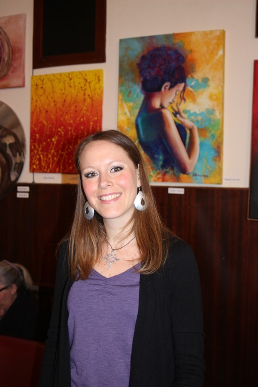 l'artista Barbara Manzo