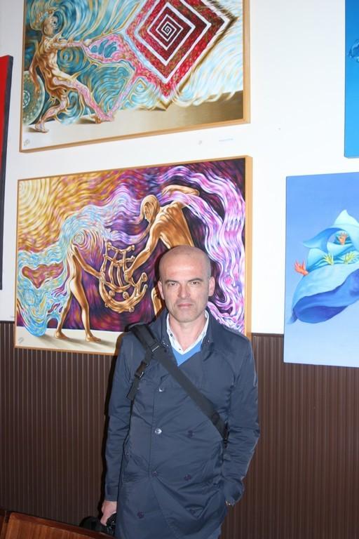 l'artista Lucio Alessio