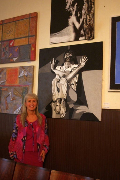 l'artista Concetta Marrocoli