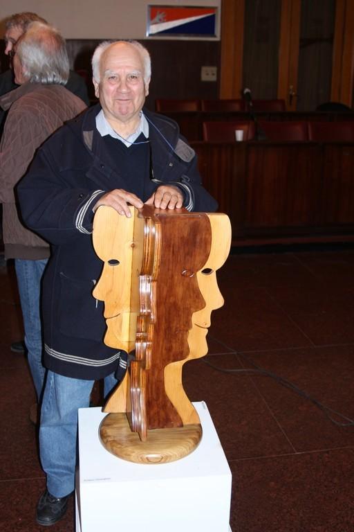 l'artista Giovanni Ariano