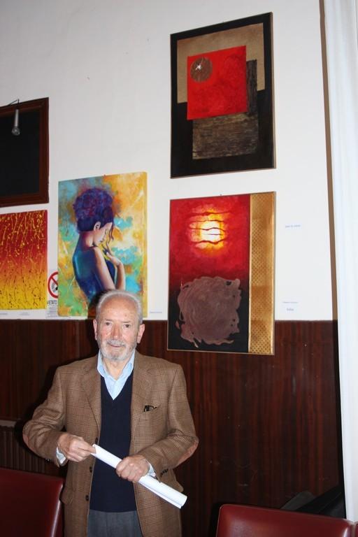 l'artista Giovanni Villapiano