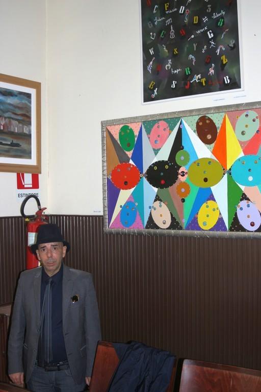 l'artista Luigi Bruno