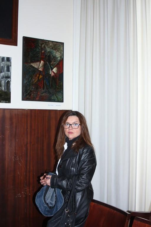l'artista Chiara Rojo