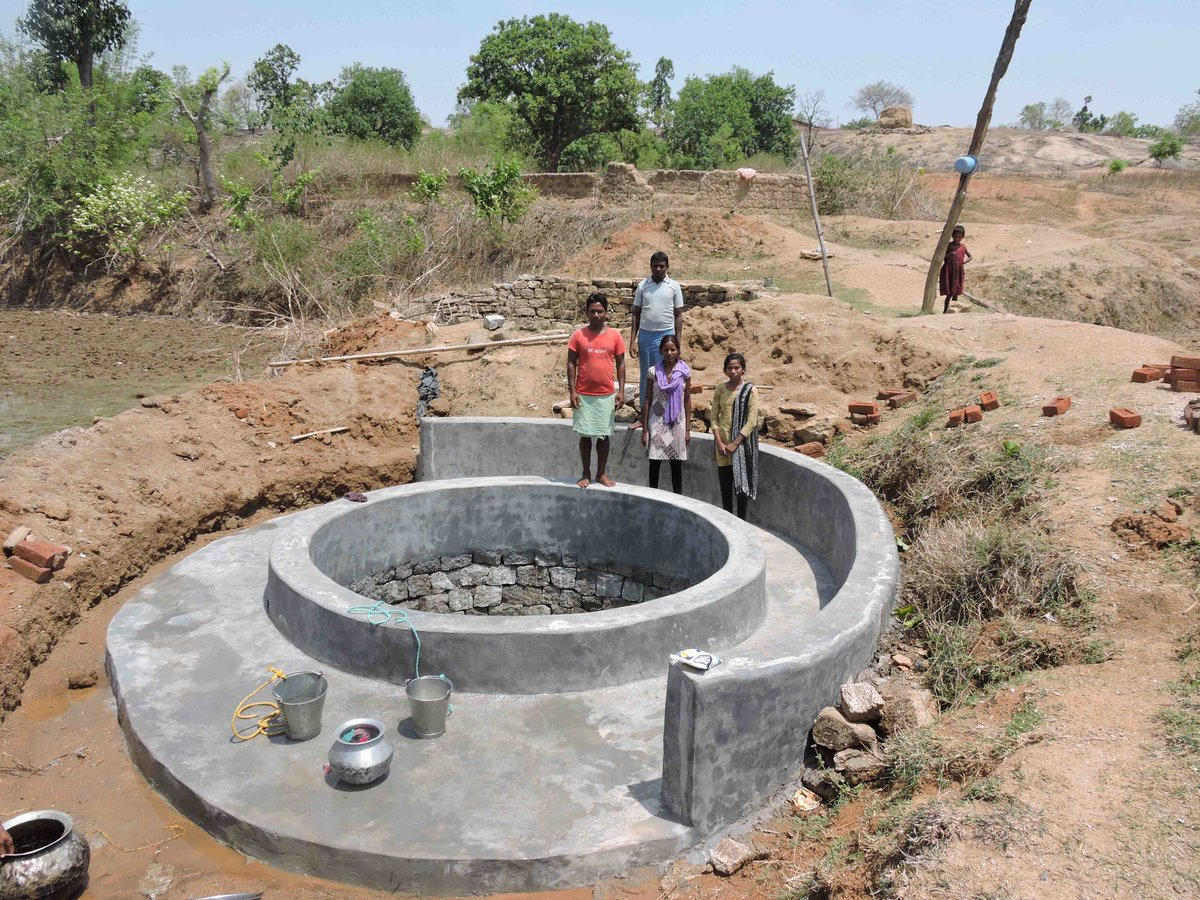 Dr Shakti Lamba is studying how people cooperate to build wells in Chhattisgarh, India
