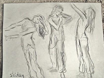 Shirley Pattinson-août 2013-danseuse Drachin